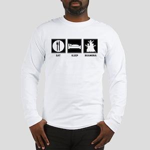 Eat. Sleep. Bhangra. Long Sleeve T-Shirt