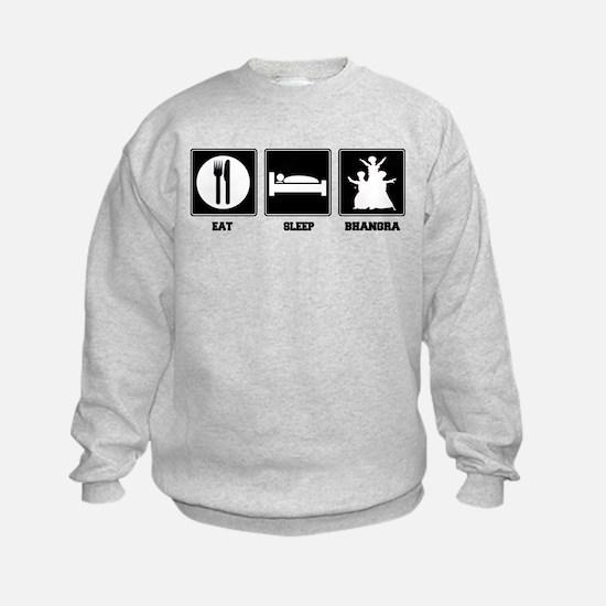 Eat. Sleep. Bhangra. Sweatshirt