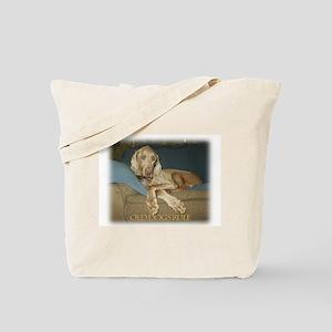 Old Dogs Rule-Jake Tote Bag