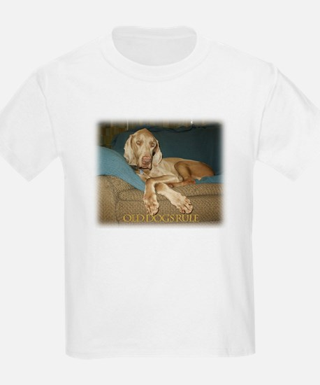 Old Dogs Rule-Jake T-Shirt
