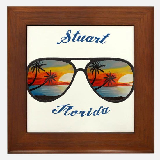 Florida - Stuart Framed Tile