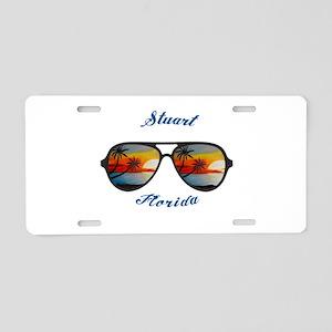 Florida - Stuart Aluminum License Plate