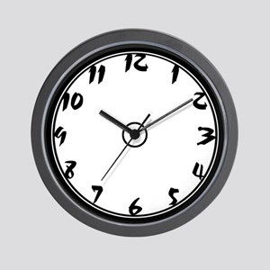 Punch Art Wall Clock