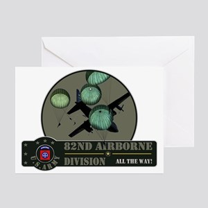 82nd Airborne Greeting Cards (Pk of 20)