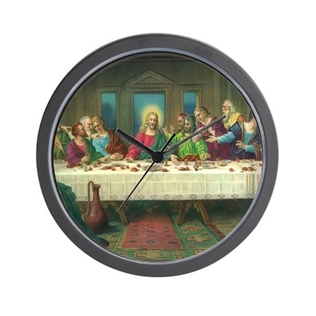 The Last Supper Wall Clock