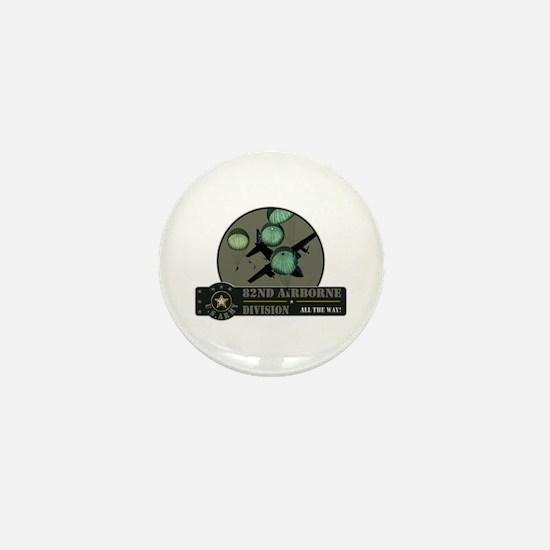 82nd Airborne Mini Button