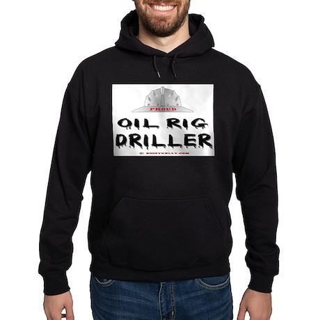 Oil Rig Driller Hoodie (dark) Oil, Gas, Oil Rig,