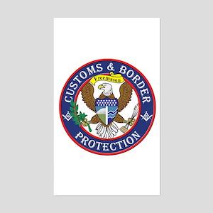 CBP Masons Rectangle Sticker