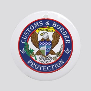 CBP Masons Ornament (Round)