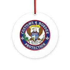 CBP Masons Ornament (Round)