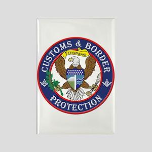 CBP Masons Rectangle Magnet