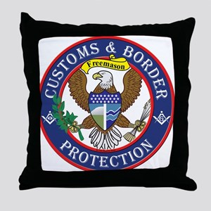 CBP Masons Throw Pillow