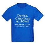 Dewey, Cheatum & Howe Kids Dark T-Shirt