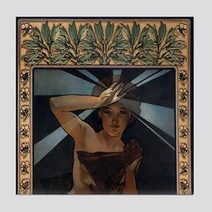 Mucha Art Tile Set Morning Star - P1of3