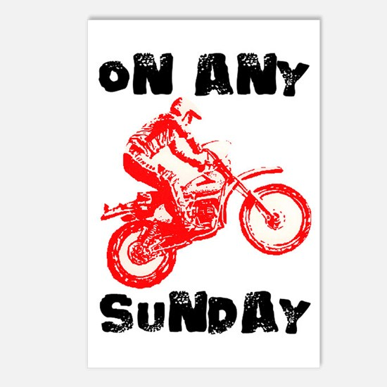 ON ANY SUNDAY Postcards (Package of 8)
