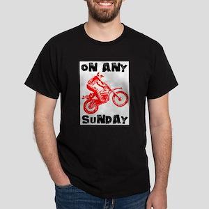 ON ANY SUNDAY Dark T-Shirt