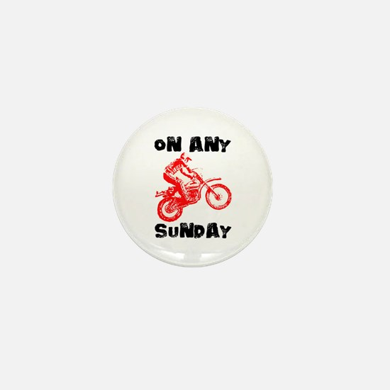 ON ANY SUNDAY Mini Button