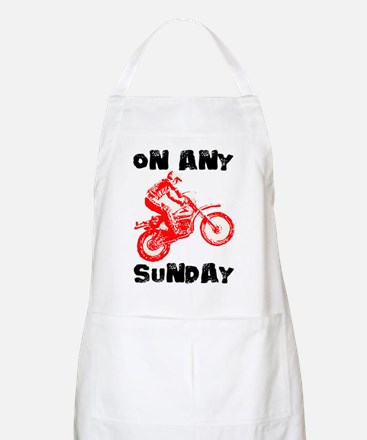 ON ANY SUNDAY Apron