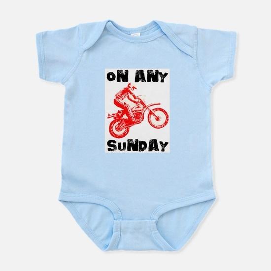 ON ANY SUNDAY Infant Bodysuit