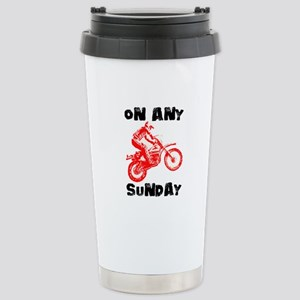 ON ANY SUNDAY Stainless Steel Travel Mug
