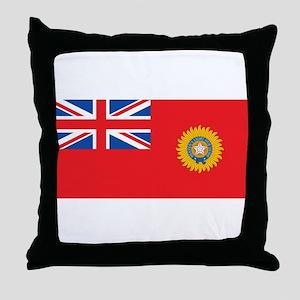 British Raj Flag Throw Pillow