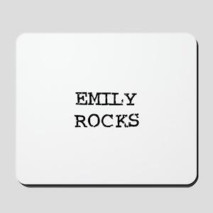 EMILY ROCKS Mousepad