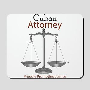 Cuban Attorney Mousepad