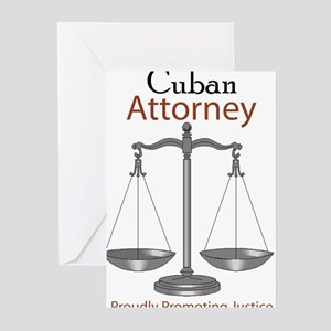 Cuban Attorney Greeting Cards (Pk of 10)