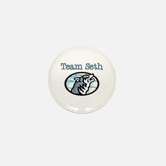 Team Seth Wolf Mini Button