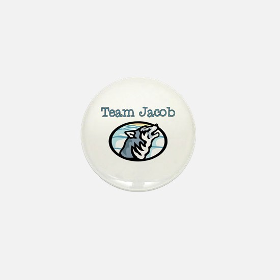 Team Jacob Wolf Mini Button