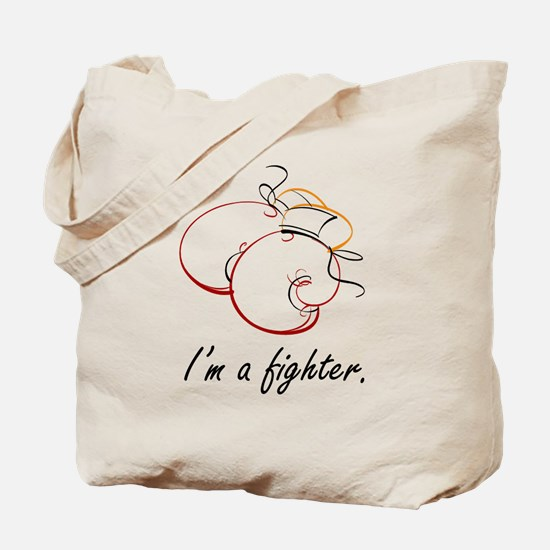 I Am a Fighter Tote Bag