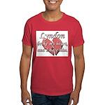 Lyndon broke my heart and I hate him Dark T-Shirt