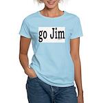 go Jim Women's Pink T-Shirt