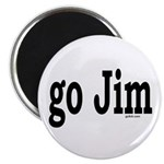 """go Jim 2.25"""" Magnet (100 pack)"""