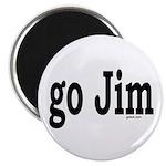 go Jim Magnet