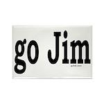go Jim Rectangle Magnet (100 pack)