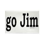 go Jim Rectangle Magnet (10 pack)