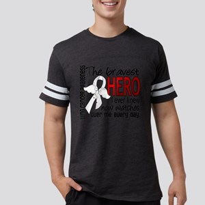 Bravest Hero I Knew Lung Cancer T-Shirt