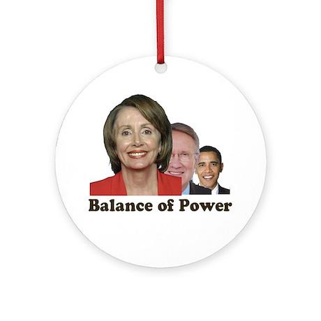 Balance of Power Ornament (Round)