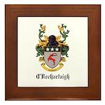 O'Dochartaigh Coat of Arms Framed Tile