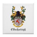 O'Dochartaigh Coat of Arms Tile Coaster