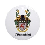 O'Dochartaigh Coat of Arms Ornament (Round)