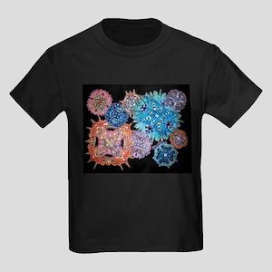 Snowflakes Kids Dark T-Shirt