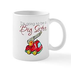 Fire Truck Big Sister Mug