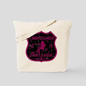 Flamenco Dancer Diva League Tote Bag