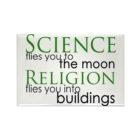 Science and Religion Rectangle Magnet