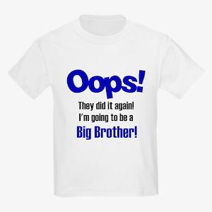 Oops Big Brother Kids Light T-Shirt