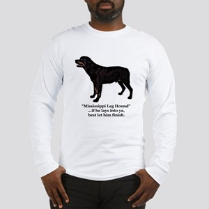 Mississippi Leg Hound Long Sleeve T-Shirt