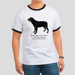 Mississippi Leg Hound Ringer T