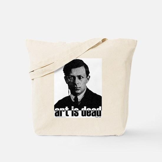ART IS DEAD Tote Bag